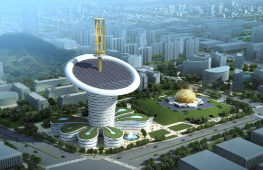Wuhan Energy Flower - Soeters Van Eldonk Architects