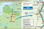 Canal Seine-Nord Europe : le projet du tracé