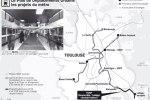 Le Plan de Déplacement Urbain - Toulouse (Source La Dépeche)