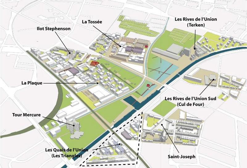 Grand prix national des ecoquartiers 2011 pour l union et - Residence les jardins de la haye nancy ...