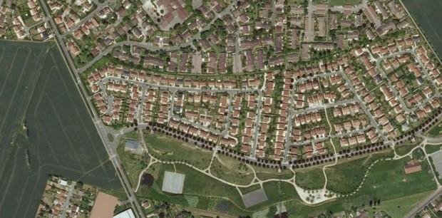 Capture Google Map – quelque part en France…