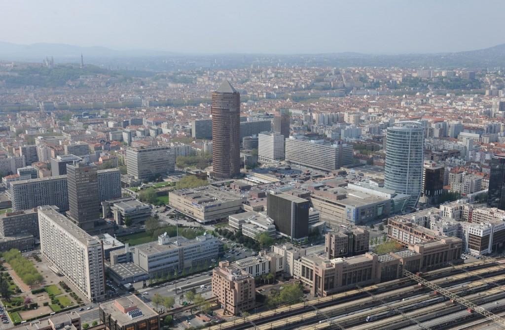 Le Quartier d'Affaires de la Part-Dieu - Lyon (Crédits Photo OnlyLyon)
