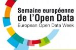 Le logo de la première Semaine Européenne de l'Open Data.