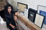 Odile Decq, star de l'architecture, est aussi collectionneuse, artiste elle-même à ses heures.