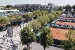 Vue générale du stade de Roland-Garros, à Paris.