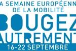 Logo de la Semaine européenne de la mobilité.