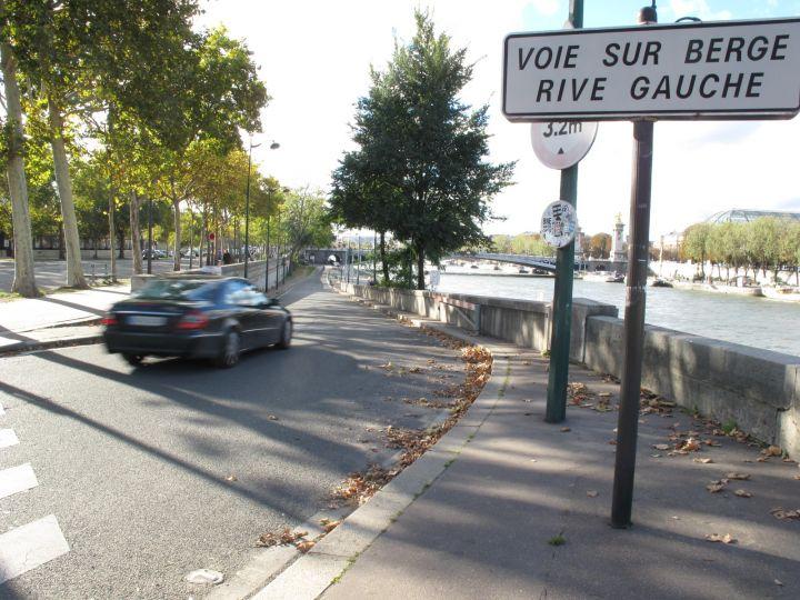 voies sur berge paris et maintenant la rive gauche urbanews. Black Bedroom Furniture Sets. Home Design Ideas