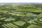 Vue du futur aéroport de Notre-Dame-des-Landes, qui devrait voir le jour en 2017.