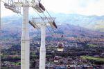 Un téléphérique urbain comme à Medellin, en Colombie, c'est le rêve du maire Marc Everbecq.
