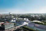 Plus de 7 037 Boulonnais ont plébiscité ce projet qui inclue une tour pouvant culminer jusqu'à 110 mètres et un jardin sous verrière de 12 000 m².