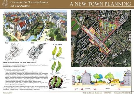 Planche de présentation 1 : un nouvel urbanisme.