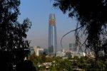 Le Gran Torre Costanera Center est en construction à Santiago du Chili.