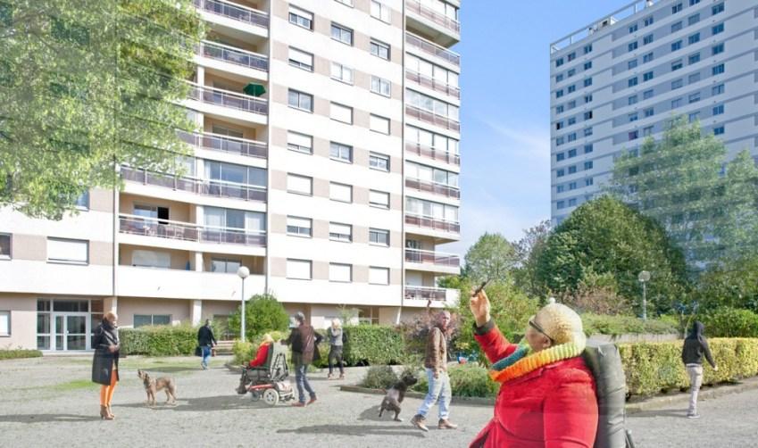 Allée Beau-Rivage #1, Nantes, France, 2012