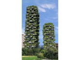 Vue des deux tours du Bosco Verticale.