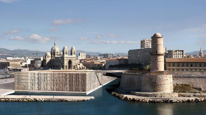 Le musée des Civilisations de l'Europe et de la Méditerranée.