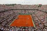 Le court Philippe Chatrier, à Roland-Garros.