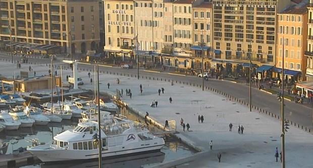 Le Vieux Port réaménagé - Marseille