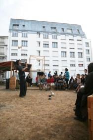 Place au changement - par le Collectif Etc, St Etienne - 2011