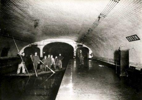 Métro Odéon 1910