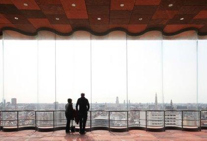 Vue sur la ville depuis l'intérieur ©Neuleings-Reidijk Architecten