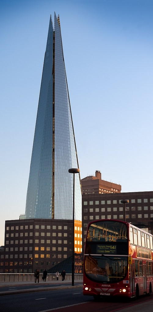 The Shard – Londres – Copyright Hayes Davidson Nick Wood
