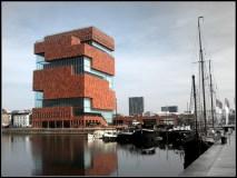 Le MAS et le Bonapartedok ©Neuleings-Reidijk Architecten