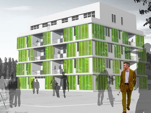 Algae Building - Spitterwerk Architectes