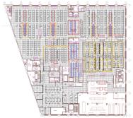 Un plan d'un Data Center propriété de Telehouse situé à proximité du Carrier Hotel sur la 10th Avenue