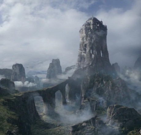 Eyrie dans le Val d'Arryn