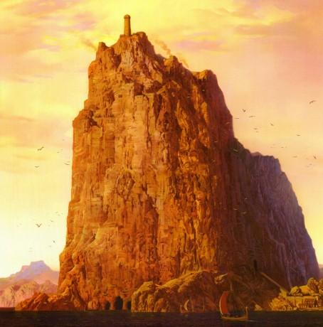 Coucher de Soleil sur Casterly Rock