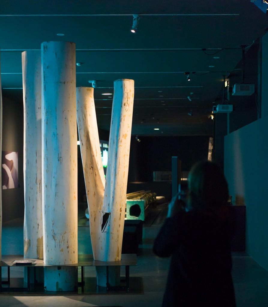 """Exposition """"Ricciotti, architecte"""" à la Cité de l'architecture & du patrimoine. Crédits photo : Charles Plumey / Lafarge"""