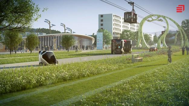 modulair Eiffage imagine la ville de 2030