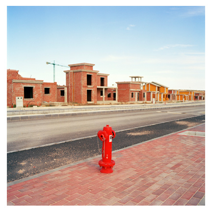 Tercia Real master-planned community (abandoned). Murcia, Spain.