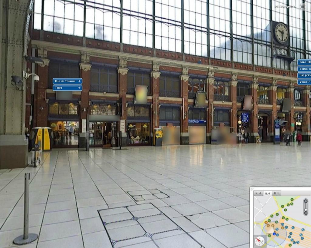 La gare lille flandres fait peau neuve urbanews for Salon sncf grand voyageur