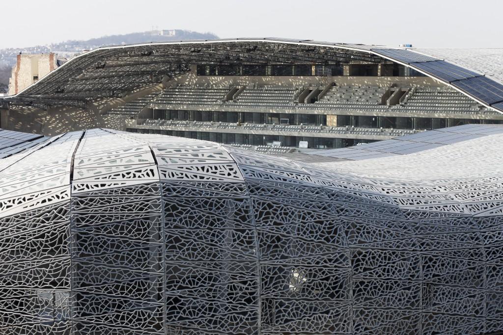 Le nouveau stade jean bouin est en marche urbanews - Stade francais porte de saint cloud ...