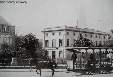 Tramway hippomobile