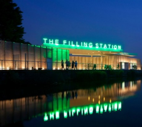 The Filling Station, au nord de Londres. Crédit photo: Inhabitat.