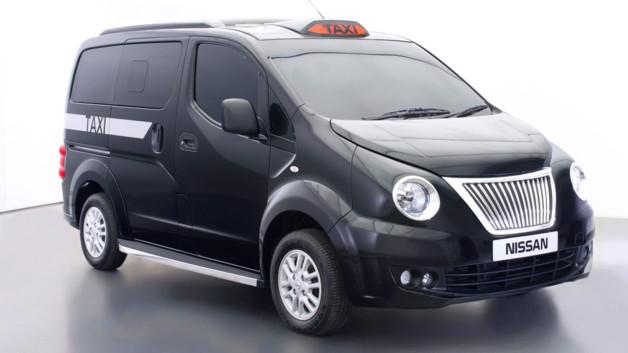 Le taxi londonien NV200 (crédits photo : Nissan)