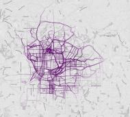 Atlanta (crédits image : flowingdata.com)