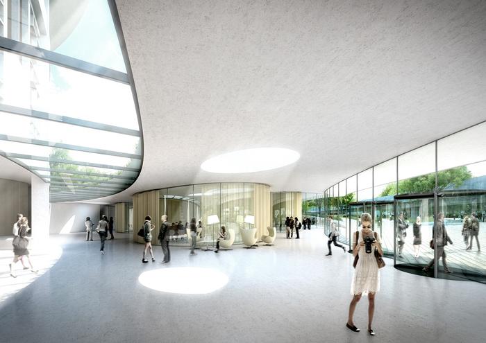 Learning Center (crédits : ©Auer Weber / VIZE)