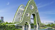 Bridge Towers - Paris Smart City 2050 - © Vincent Callebaut