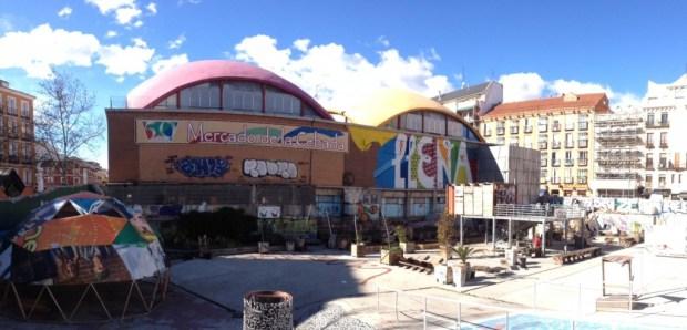 Le Campo de La Cebada. Un centre de créativité au cœur de Madrid et autogéré par les habitants du quartier de La Latina (source: Raphaël Besson)