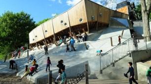 Parc de Belleville - BASE