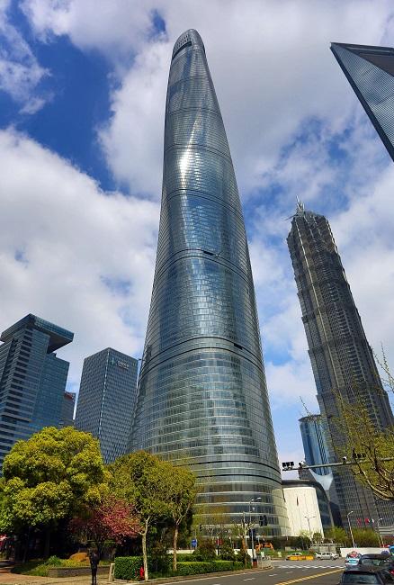 La tour de shanghai deuxi me plus haute tour du monde for Plus haute tour new york