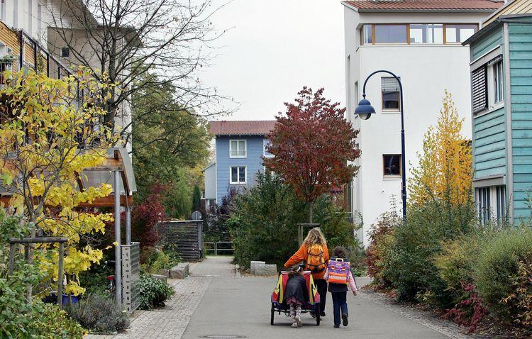 Eco-quartier Vauban de Fribourg