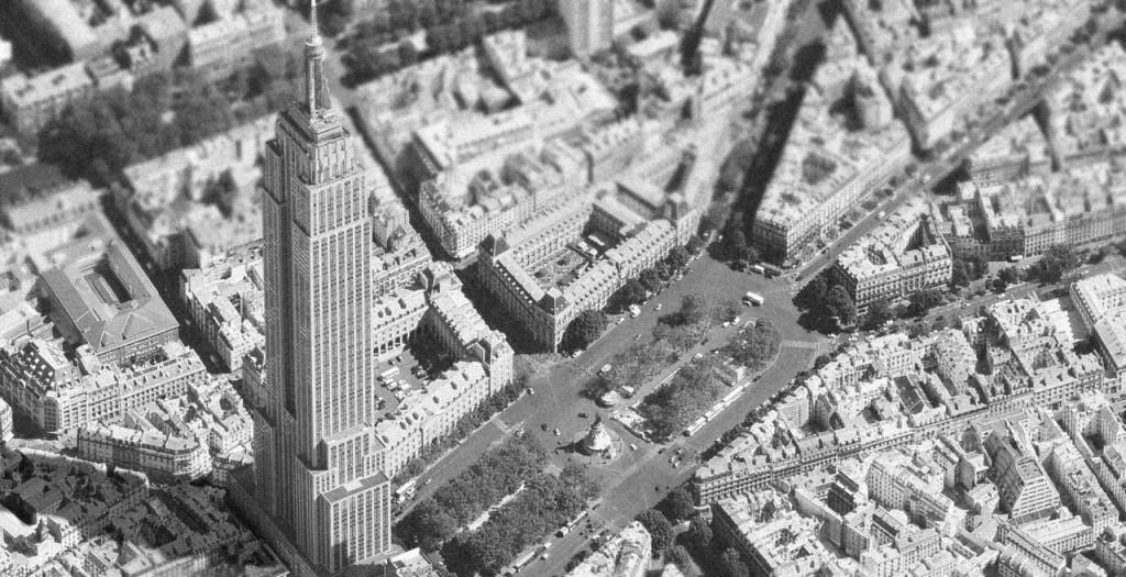 Et si l'Empire State Building trônait sur la place de la République ? / © Luis Fernandes