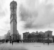 Une tour de Manhattan devant la gare Montparnasse de 1900 / © Luis Fernandes