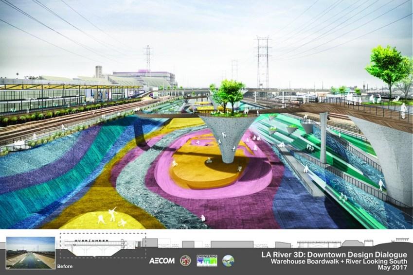 170525 - Los Angeles River Downtown Design Dialogue - AECOM Digital Presentation4