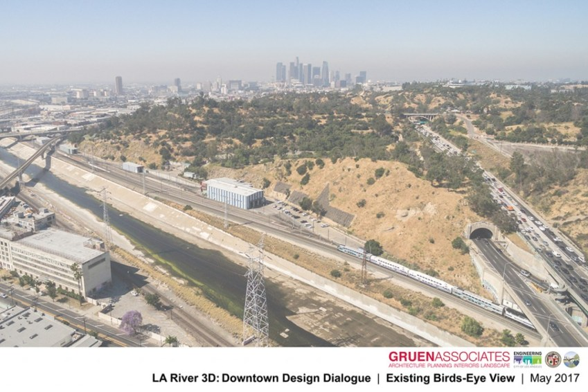Elysian Terrace - Gruen Associates - Los Angeles River