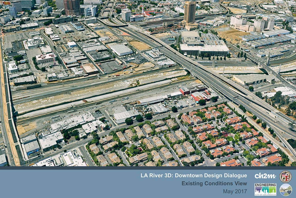 Los Angeles River Downtown - CH2M
